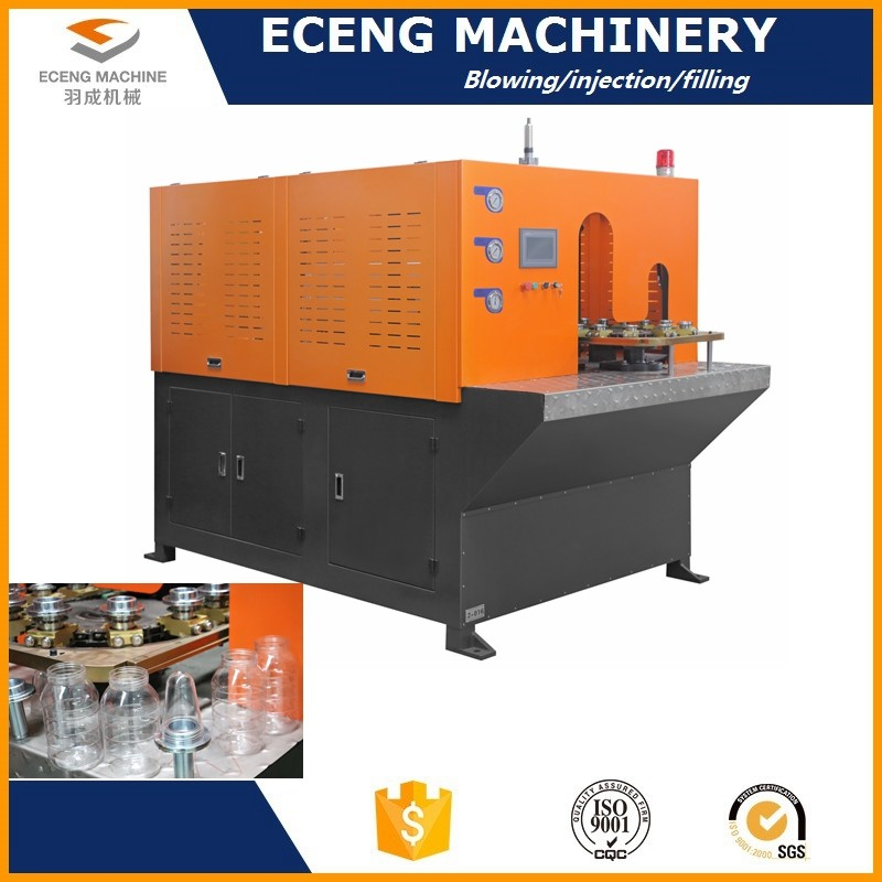 Plastic Container Automatic Blow Molding Machine With Anti - Vibration Structure